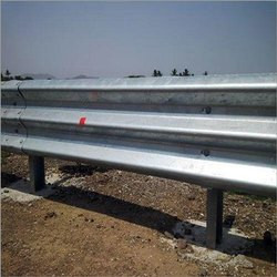 Modified Thrie Beam Crash Barrier (Approx. Rs 1,100 / Square Meter)