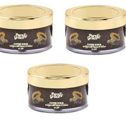 Pure & Grace Coffee Scrub Pack Of 3 (Code: C1417321)