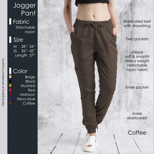 Jogger Pant Coffee
