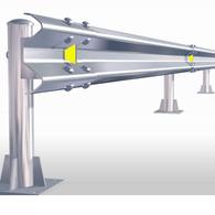 W Metal Beam Crash Barrier (Approx. Rs 1,100 / Meter)