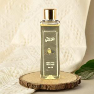 Pure & Grace Anti-Dandruff Kit (100% Pure Castor Oil and Anti-Dandruff Shampoo) (Code: C1362638)
