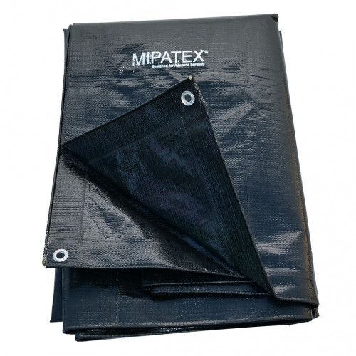 Mipatex Tarpaulin Sheet Waterproof Heavy Duty 15ft x 6ft,  Poly Tarp with Aluminium Eyelets every 3 feet - Multipurpose Quality - 150 GSM  Plastic Cover for Truck, Roof, Rain, Outdoor or Sun