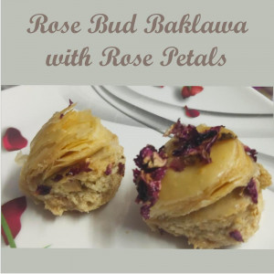 Rose Bud Baklawa (Pack of 250gm)