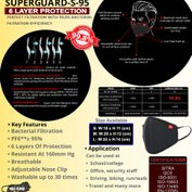 SWISS MILITARY MASK SUPERGUARD S-95 (Pack of 10)