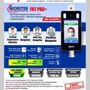 Microtek Temperature Measurement Face Recognition Attendance Management - FRT PRO PLUS MODEL