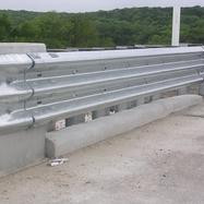 Galvanized Thrie Metal Beam (Approx. Rs 1,700 / Meter)