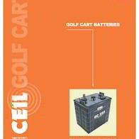 Exide Golf Cart Battery