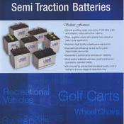 UNIK Golf Cart Battery