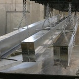 SS Hot Dip Galvanized (Approx. Rs 22 / Kg)