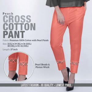 Cross Cotton Pant