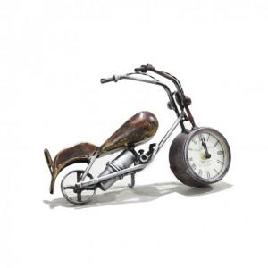 Metal Copper bike clock