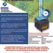 Powertron Uv Disinfection 100 Cuv 150 Watt