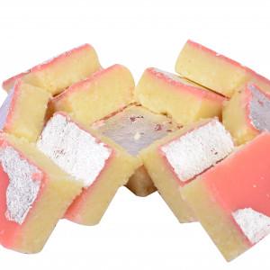 Pink Coconut Burfi