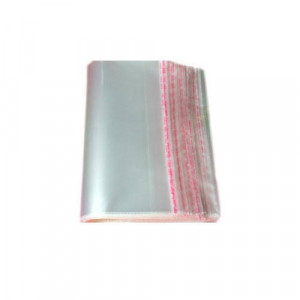 BOPP BAG 10 X 12 + 2 inch FLAP 80M (PRICE FOR 1000 PC)