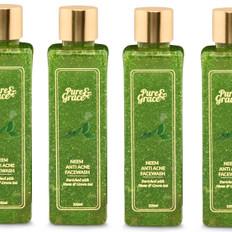 Pure & Grace Neem - Anti Acne Facewash Pack of 4 (Code: C1416473)
