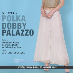 Polka Dobby Palazzo