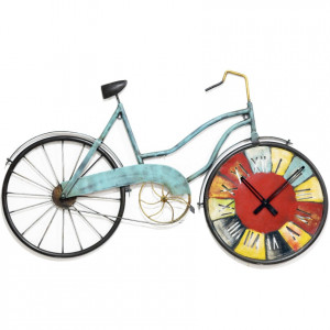 Iron multy Cycle clock wall décor