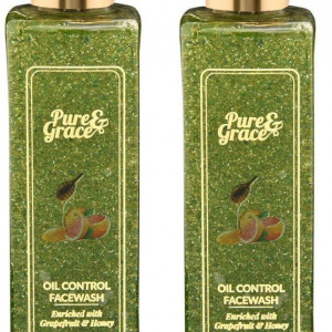 Pure & Grace Oil Control Face-washPack Of 2 (Code: C1417467)
