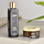 Pure & Grace Skin Rejuvenating Face wash & Scrub Kit (Charcoal Facewash & Coffee Scrub) (Code: C1363035)