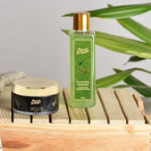Pure & Grace Oil Control Face wash & Scrub Kit (Oil Control Facewash & Charcoal Scrub) (Code: C1416797)