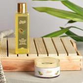Pure & Grace Skin Brightening Face wash & Scrub Kit (Skin Brightening Facewash & Walnut Scrub (Code: C1416752)