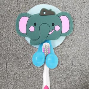 Creative Plastic Tooth Brush Holder for Kids