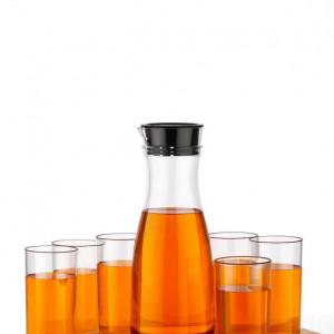 Jug & Glasses - 2 Ltr Plastic Jug with Set of 6 200 ml Glasses (Code: 1170994)