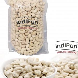 IndiPop Cashew Kernels Nuts Premium Quality Regular Size Grade 320 (Kaju Sabut, Whole Cashews) 250g pack