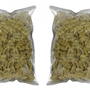 IndiPop Golden Kishmish (Raisins), Dry Grapes Raisins(2x250=500gm)